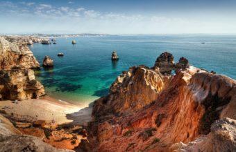 Landscapes Ocean Sea Sky Coast Shore 1920 x 1080 340x220
