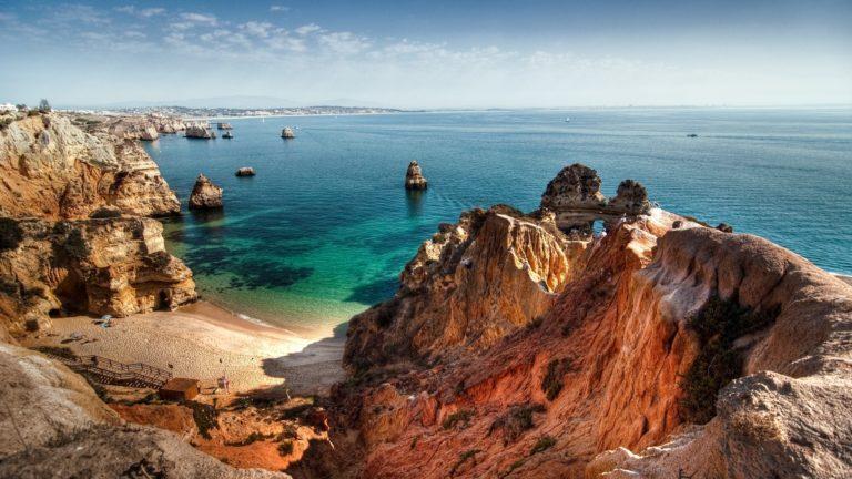 Landscapes Ocean Sea Sky Coast Shore 1920 x 1080 768x432