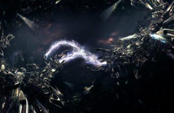 Lightning Rays Iron 1440 x 900 340x220