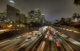 Los Angeles Road Traffic 1440 x 900 340x220