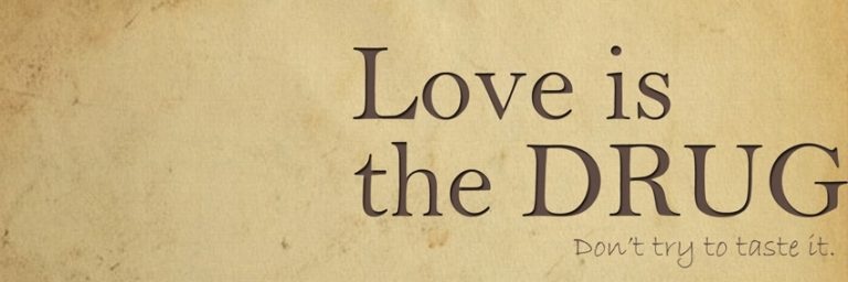 Love Is The Drug Facebook Cover 851 x 284 768x256