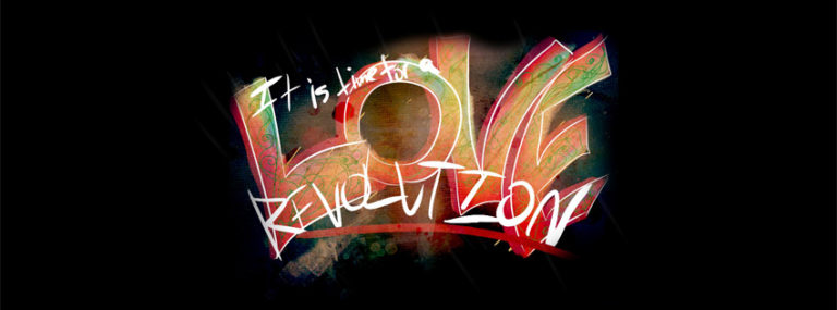 Love Revolution Facebook Cover Photo 850 x 315 768x285