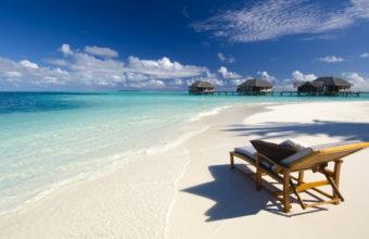 Maldives Conrad Beach Ocean Sea 2560 x 1600 340x220