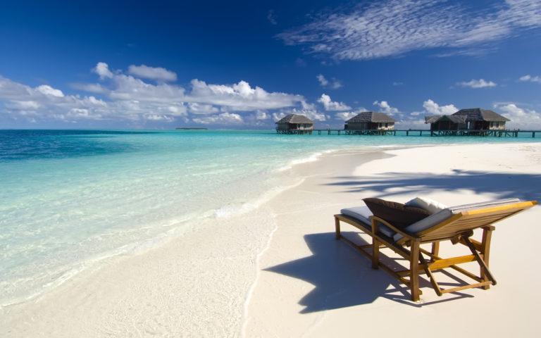 Maldives Conrad Beach Ocean Sea 2560 x 1600 768x480