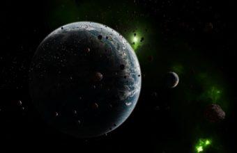 Meteorites Rain Earth Wallpaper 1125x900 340x220