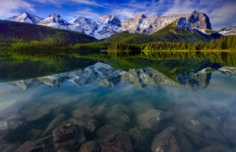 Mountain Landscape Reflection Mountains 3000 x 2000 340x220