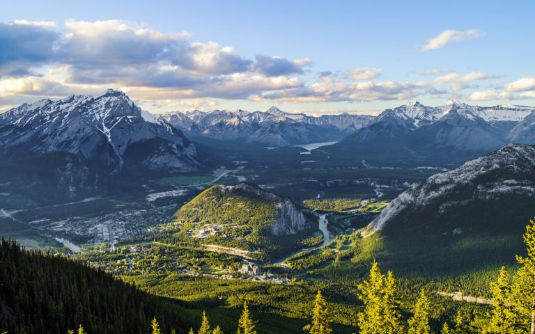 Mountains Canada Scenery Alberta 2880 x 1800 768x480