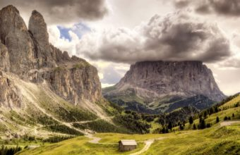 Mountains Clouds Landscapes 2560 x 1600 340x220