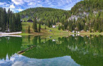 Mountains Lake Reflection 4938 x 3265 340x220