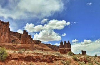 Mountains Rocks Sky Clouds 2560 x 1600 340x220