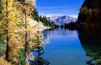 Mountains Sky River 1600 x 1200 340x220