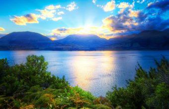 Mountains Sun Light 2560 x 1600 340x220