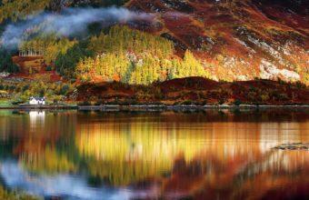 Nature Lake Landscape Reflection 1920 x 1200 340x220