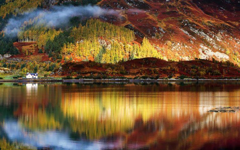 Nature Lake Landscape Reflection 1920 x 1200 768x480