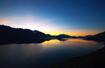 New Zealand Sunset 2880 x 1800 340x220