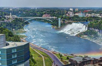 Niagara Falls Rainbow Bridge View 2048 x 1360 340x220
