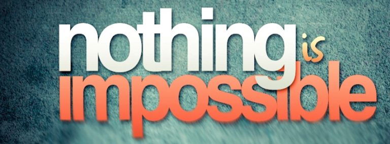 Nothing is Impossible FB Cover Photo 768x284