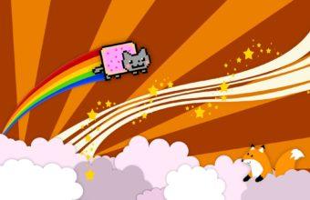 Nyan Cat Nyan Cat 1920 x 1200 340x220
