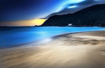 Ocean Landscapes Nature Coast Beach 3840 x 2400 340x220