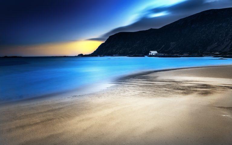 Ocean Landscapes Nature Coast Beach 3840 x 2400 768x480