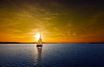 Ocean Sunset 2880 x 1800 340x220