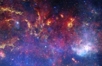 Outer Space Nebulae Windows 3840 x 1200 340x220
