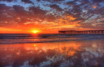 Pacific Beach Sunset 1920 x 1200 340x220