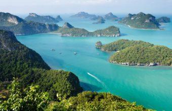 Parks Thailand Scenery Sea Island 2304 x 1536 340x220