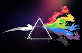 Pink Floyd Pokemon Bright 2560 x 1600 340x220