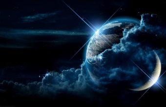 Planet Clouds Light 1920 x 1096 340x220
