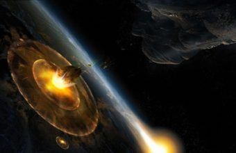 Planet Explosion Asteroids 1920 x 1060 340x220