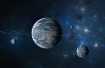 Planet Ring Moon 2560 x 1580 340x220
