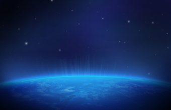 Planet Stars Blue 2880 X 1800 340x220