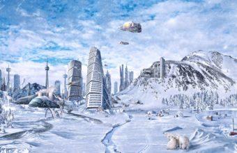 Planet World Winter 1440 X 900 340x220