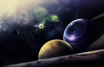 Planets Circle Flash 2336 x 1380 340x220