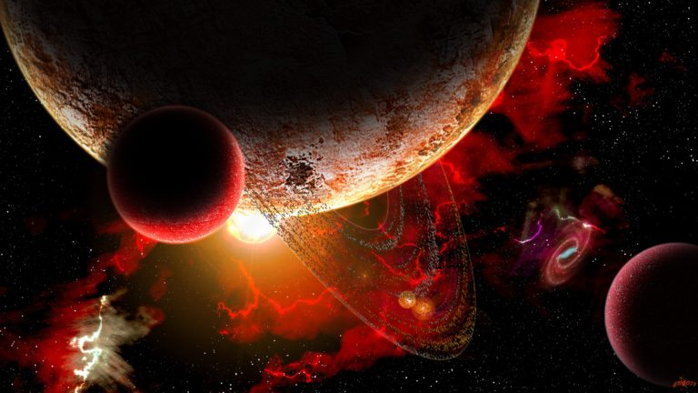 Planets rays planet star stars space 2560 x 1440 - Space 2560 x 1440 ...