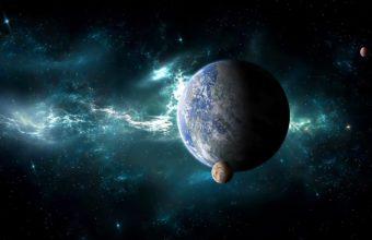Planets Satellites Space 1920 X 1140 340x220