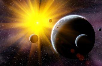 Planets Sun Stars 1920 X 1060 340x220