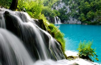Plitvice Lakes National Park Waterfall 2880 x 1800 340x220