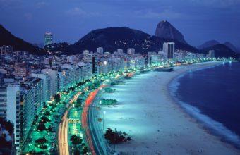 Rio De Janeiro Beach 1920 x 1200 340x220