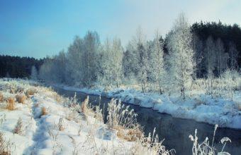 River Snow 1680 X 1050 340x220