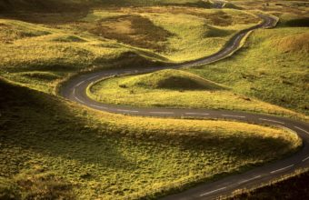 Road Bends Turns 1440 x 810 340x220