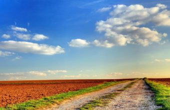 Road Field Country 1440 x 900 340x220