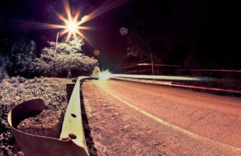 Road Nights Light 1440 x 900 340x220
