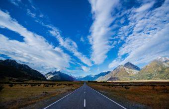 Road Sky Path 2560 x 1600 340x220