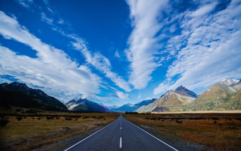 Road Sky Path 2560 x 1600 768x480