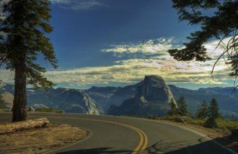 Road Turn Sky 1920 x 1200 340x220