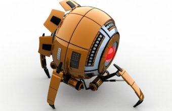 Robot Orange White 1125 X 900 340x220