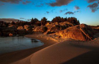 Rocks River Beach House Sunset 1920 x 1200 340x220