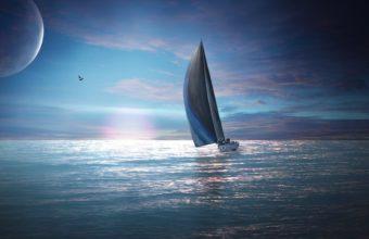 Sailing Boat 1920 x 1080 340x220
